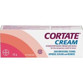 Cortate Cream - Hydrocortisone Cream 0.5 % | 15 g