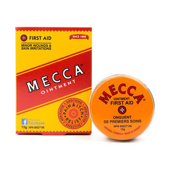 Mecca Ointment for Minor Wounds & Skin Irritations | 15 g