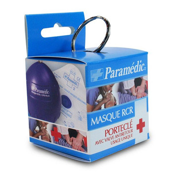 Paramedic CPR Mask with Check Valve | Single Use