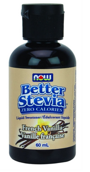 Now Better Stevia Liquid Sweetener French Vanilla | 60 mL