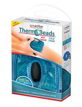 Proactive Thermo Beads Knee Wrap with Belt | 1 Unit