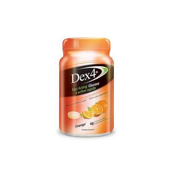 Dex4 Glucose Tablets - Orange   50 Tablets