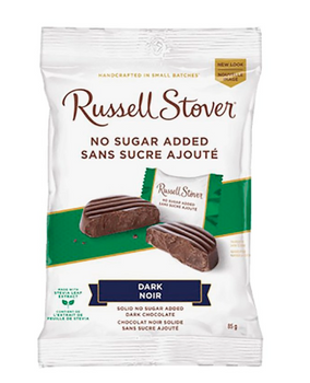 Russell Stover No Sugar Added - Dark Chocolate | 85 g