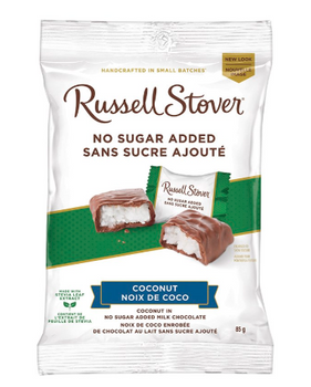 Russell Stover No Sugar Added - Coconut in Milk Chocolate | 85 g
