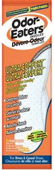 Odor-Eaters Ultra-Comfort Odour Destroying Insoles | 3 Pairs