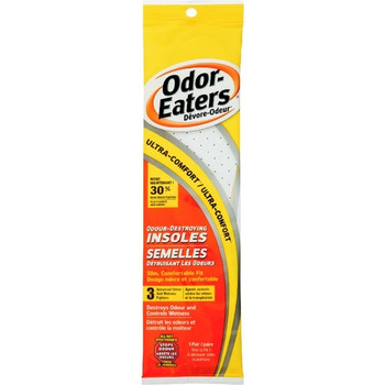 Odor-Eaters Ultra-Comfort Odour Destroying Insoles | 1 Pair