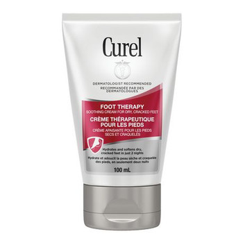 Curel Foot Therapy Soothing Cream for Dry, Cracked Feet | 100 ml