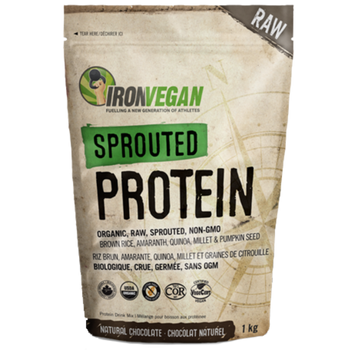 Iron Vegan Sprouted Protein Chocolate | 1kg