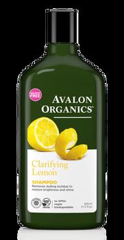 Avalon Organics Clarifying Lemon Shampoo | 325ml