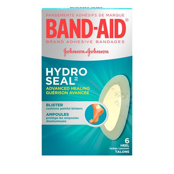Band-Aid Hydro Seal Advanced Healing Blister Cushions | 6 Bandages