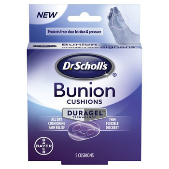 Dr. Scholl's Bunion Cushions with Duragel Technology | 5 Cushions