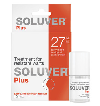 Soluver Plus Treatment for Resistant Warts   10 ml