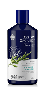 Avalon Organics Biotin B-Complex Thickening Shampoo | 414ml
