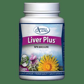 Omega Alpha Liver PLus Liver Restoration Complex | 90 VegCaps