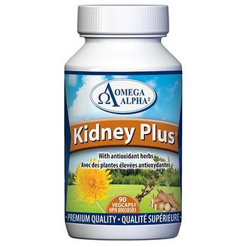 Omega Alpha Kidney Plus - Kidney & Urinary Tract Support | 9 VegCaps