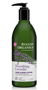 Avalon Organics Nourishing Lavender Hand and Body Lotion | 355ml
