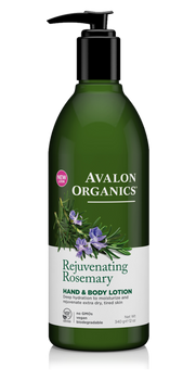 Avalon Organics Rejuvenating Rosemary Hand and Body Lotion | 355ml