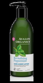 Avalon Organics Revitalizing Peppermint Hand and Body Lotion | 355ml