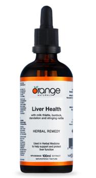 Orange Naturals Liver Health Herbal Remedy | 100 mL