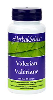 Herbal Select Valerian 500mg | 60vcap