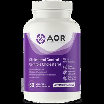 AOR Cholesterol Control 500 mg | 60 Vegi-Capsules