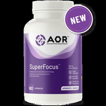 AOR SuperFocus Capsules | 60 Caps
