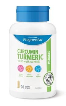 Progressive Curcumin Turmeric Herbals Supplement | 30 Vegetable Capsules