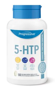 Progressive 5-HTP Cognitive Supplement | 90 Vegetarian Enteric Coated Caplets