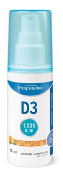 Progressive D3 Vitamin Spray - Natural Orange | 58 ml