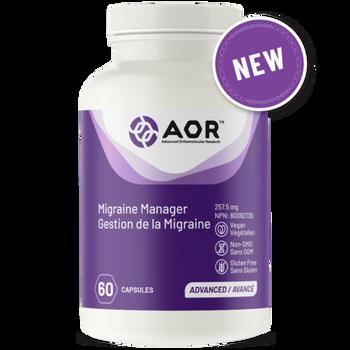 AOR Migraine Manager | 60 Capsules