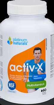 Platinum Naturals Activ-X - Men | 60 Softgels