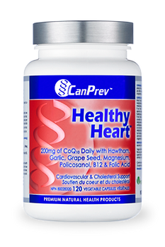 CanPrev Healthy Heart | 120 Vegetable Capsules