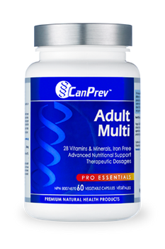 CanPrev Adult Multivitamin | 60 Vegetable Capsules