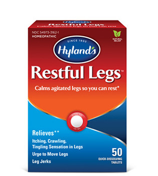Hyland's Restful Legs | 50 Quick-Dissolving Tablets