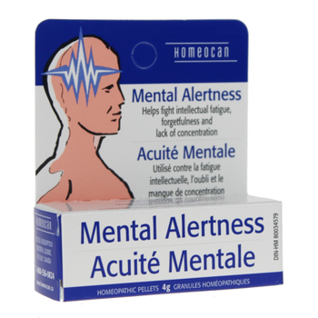 Homeocan Mental Alertness Homeopathic Pellets   4 g