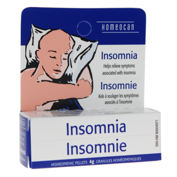Homeocan Insomnia Homeopathic Pellets | 4 g