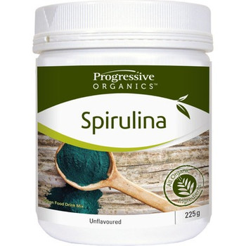 Progressive Organics Spirulina Green Food Drink Mix | 225 g