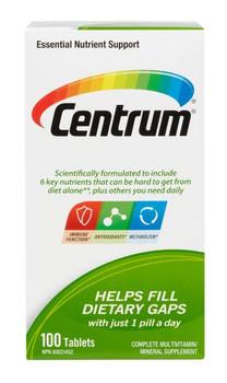 Centrum Complete Multivitamin | 100 Tablets
