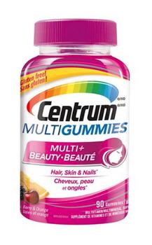 Centrum MultiGummies - Multi+Beauty | 90 Gummies