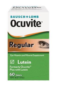 Bausch + Lomb Ocutive Regular Eye Vitamin & Mineral Supplement | 60 Tablets