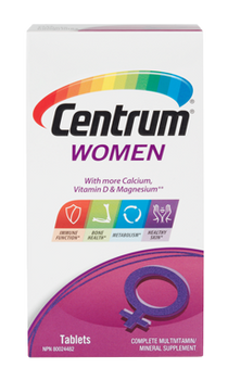 Centrum Women Complete Multivitamin and Multimineral Supplement | 90 Tablets