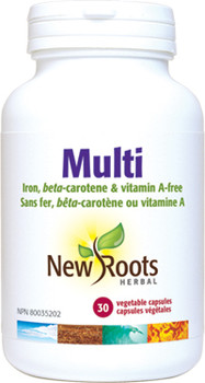 New Roots Multi Vitamin | 60 Vegetable Capsules