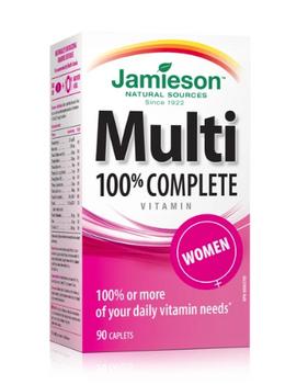 Jaimeson 100% Complete Multivitamin - Women | 90 Caplets