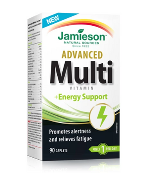Jamieson Advanced Multivitamin & Energy Support | 90 Caplets