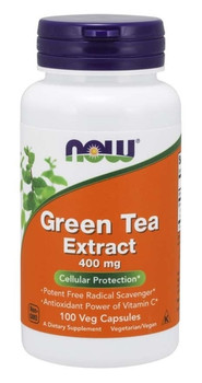 NOW Green Tea Extract 400 mg | 100 Capsules