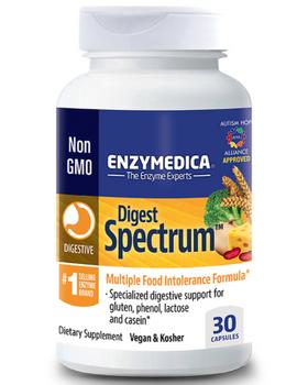Enzymedica Digest Spectrum   30 Capsules