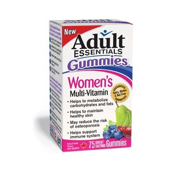 Adult Essentials Gummies Multi-Vitamin for Women | 75 Gummies