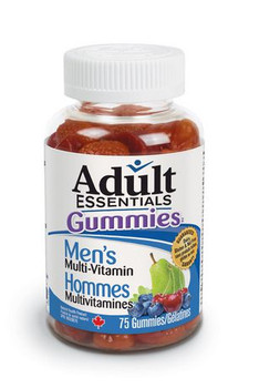 Adult Essentials Gummies Multi-Vitamin for Men | 75 Gummies