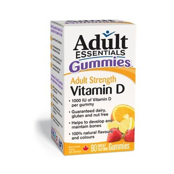 Adult Essentials Gummies Adult Strength Vitamin D | 90 Gummies