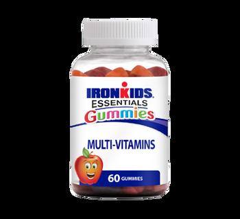 IronKids Essentials Gummies Multivitamins   60 Gummies